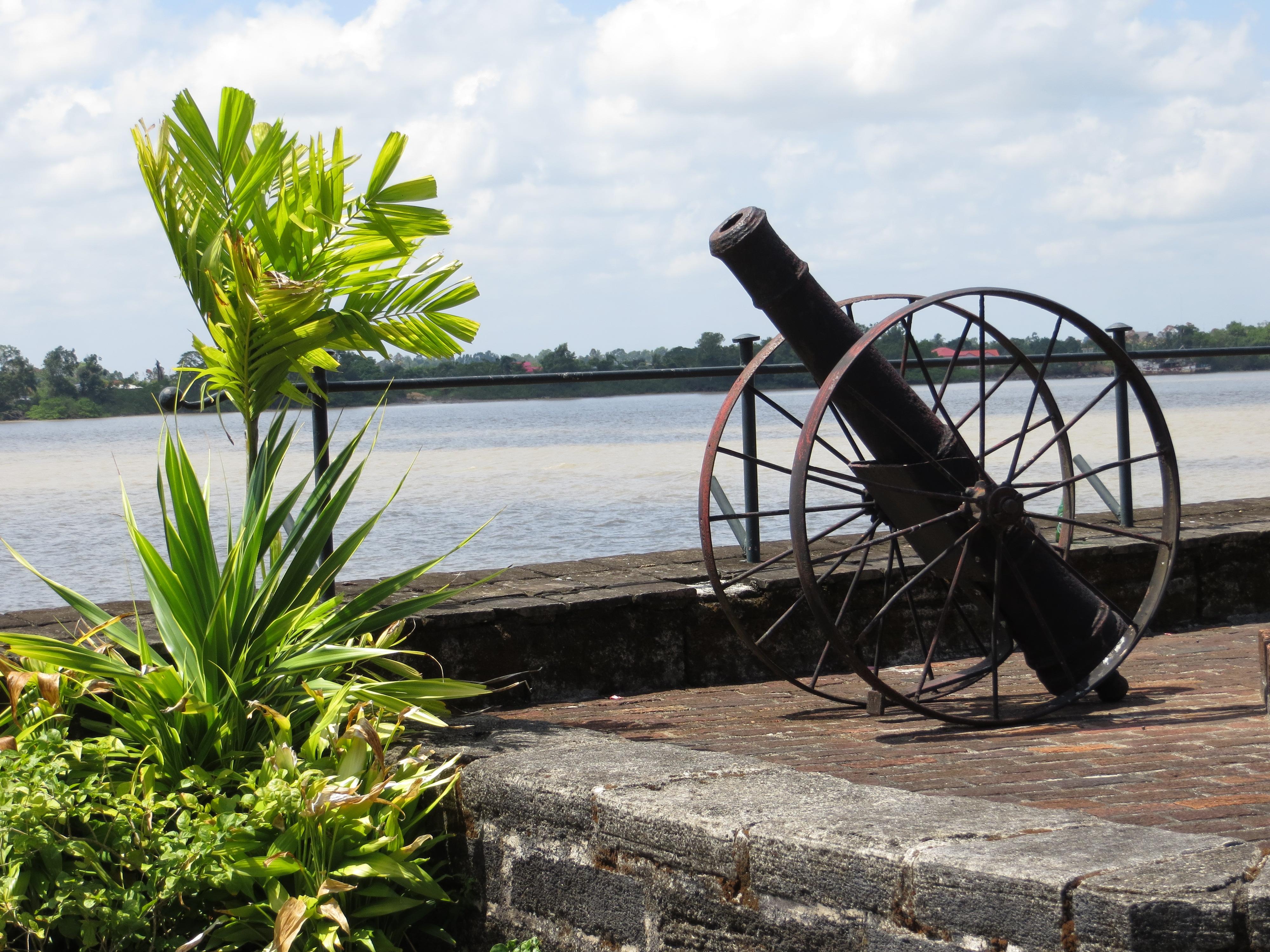 Kanon op Fort Zeelandia