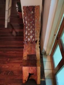 Houten Surinaamse stoel